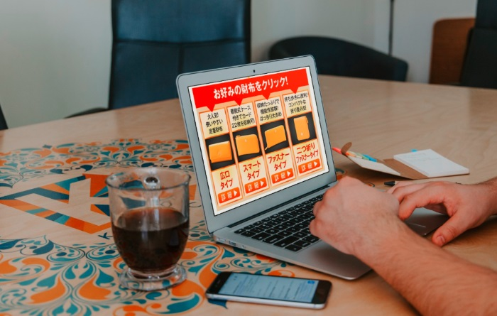 黄虎發財財布を4種類の中から選んで買う
