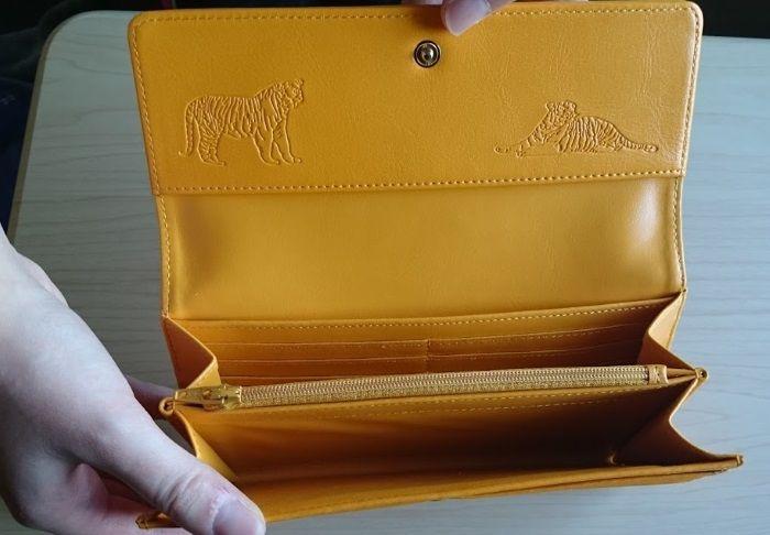 黄虎發財財布の夫婦虎