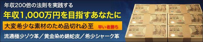年収1千萬円を目指す財布の法則
