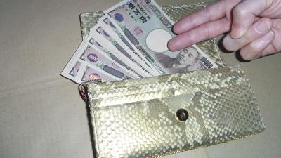 財布にお金が貯まってきた